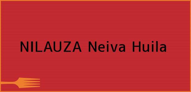 Teléfono, Dirección y otros datos de contacto para NILAUZA, Neiva, Huila, Colombia