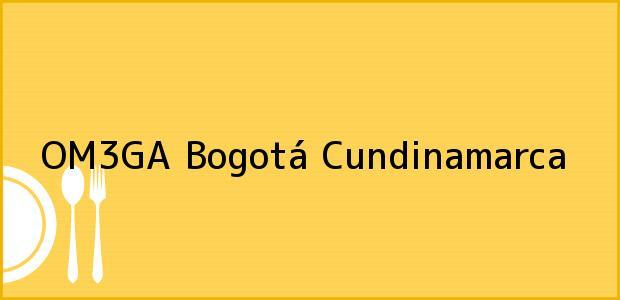 Teléfono, Dirección y otros datos de contacto para OM3GA, Bogotá, Cundinamarca, Colombia