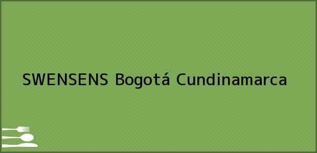 Teléfono, Dirección y otros datos de contacto para SWENSENS, Bogotá, Cundinamarca, Colombia