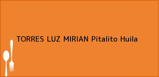 Teléfono, Dirección y otros datos de contacto para TORRES LUZ MIRIAN, Pitalito, Huila, Colombia