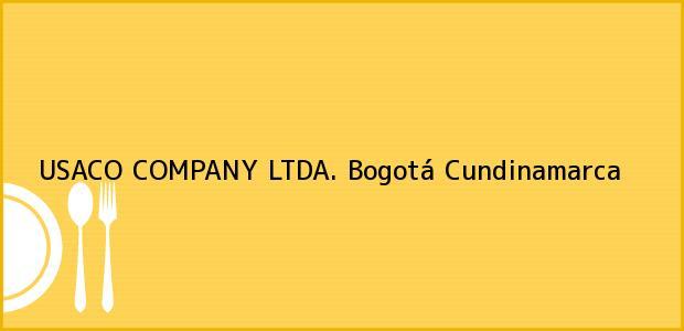 Teléfono, Dirección y otros datos de contacto para USACO COMPANY LTDA., Bogotá, Cundinamarca, Colombia