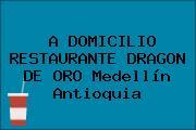 A DOMICILIO RESTAURANTE DRAGON DE ORO Medellín Antioquia