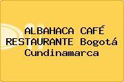 ALBAHACA CAFÉ RESTAURANTE Bogotá Cundinamarca