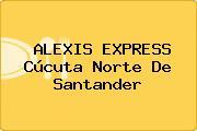 ALEXIS EXPRESS Cúcuta Norte De Santander