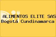 ALIMENTOS ELITE SAS Bogotá Cundinamarca