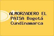 ALMORZADERO EL PAISA Bogotá Cundinamarca