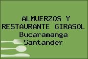 ALMUERZOS Y RESTAURANTE GIRASOL Bucaramanga Santander