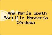 Ana María Spath Portillo Montería Córdoba