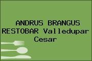 ANDRUS BRANGUS RESTOBAR Valledupar Cesar