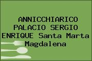 ANNICCHIARICO PALACIO SERGIO ENRIQUE Santa Marta Magdalena