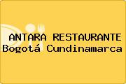 ANTARA RESTAURANTE Bogotá Cundinamarca