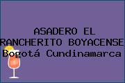 ASADERO EL RANCHERITO BOYACENSE Bogotá Cundinamarca