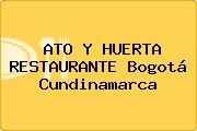 ATO Y HUERTA RESTAURANTE Bogotá Cundinamarca