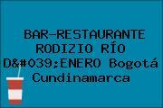 BAR-RESTAURANTE RODIZIO RÍO D'ENERO Bogotá Cundinamarca