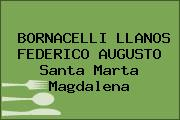 BORNACELLI LLANOS FEDERICO AUGUSTO Santa Marta Magdalena