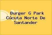 Burger G Park Cúcuta Norte De Santander