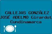 CALLEJAS GONZÁLEZ JOSÉ ADELMO Girardot Cundinamarca