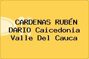 CARDENAS RUBÉN DARIO Caicedonia Valle Del Cauca