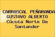 CARRASCAL PEÑARANDA GUSTAVO ALBERTO Cúcuta Norte De Santander