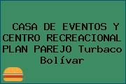 CASA DE EVENTOS Y CENTRO RECREACIONAL PLAN PAREJO Turbaco Bolívar