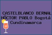 CASTELBLANCO BERNAL HÕCTOR PABLO Bogotá Cundinamarca