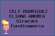 CELY RODRIGUEZ ELIANA ANDREA Girardot Cundinamarca