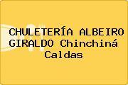 CHULETERÍA ALBEIRO GIRALDO Chinchiná Caldas