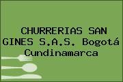 CHURRERIAS SAN GINES S.A.S. Bogotá Cundinamarca