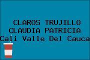 CLAROS TRUJILLO CLAUDIA PATRICIA Cali Valle Del Cauca