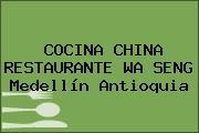 COCINA CHINA RESTAURANTE WA SENG Medellín Antioquia