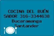 COCINA DEL BUÉN SABOR 316-3344638 Bucaramanga Santander