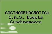 COCINADEMOCRATICA S.A.S. Bogotá Cundinamarca