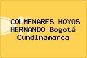 COLMENARES HOYOS HERNANDO Bogotá Cundinamarca
