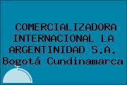 COMERCIALIZADORA INTERNACIONAL LA ARGENTINIDAD S.A. Bogotá Cundinamarca
