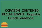 CORAZÓN CONTENTO RESTAURANTE Bogotá Cundinamarca