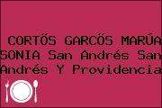 CORTÕS GARCÕS MARÚA SONIA San Andrés San Andrés Y Providencia