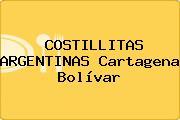 COSTILLITAS ARGENTINAS Cartagena Bolívar