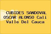 CUBIDES SANDOVAL OSCAR ALONSO Cali Valle Del Cauca