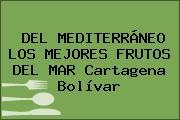 DEL MEDITERRÁNEO LOS MEJORES FRUTOS DEL MAR Cartagena Bolívar