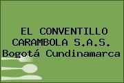 EL CONVENTILLO CARAMBOLA S.A.S. Bogotá Cundinamarca