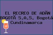 EL RECREO DE ADÃN BOGOTÃ S.A.S. Bogotá Cundinamarca