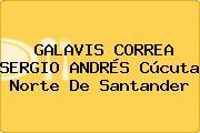 GALAVIS CORREA SERGIO ANDRÉS Cúcuta Norte De Santander