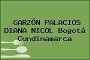 GARZÓN PALACIOS DIANA NICOL Bogotá Cundinamarca