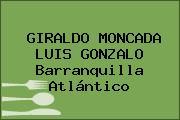 GIRALDO MONCADA LUIS GONZALO Barranquilla Atlántico