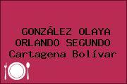 GONZÁLEZ OLAYA ORLANDO SEGUNDO Cartagena Bolívar