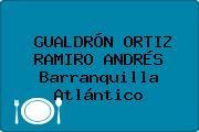 GUALDRÓN ORTIZ RAMIRO ANDRÉS Barranquilla Atlántico