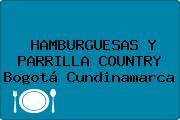 HAMBURGUESAS Y PARRILLA COUNTRY Bogotá Cundinamarca