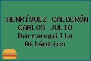HENRÍQUEZ CALDERÓN CARLOS JULIO Barranquilla Atlántico