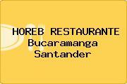 HOREB RESTAURANTE Bucaramanga Santander