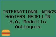 INTERNATIONAL WINGS HOOTERS MEDELLÍN S.A. Medellín Antioquia